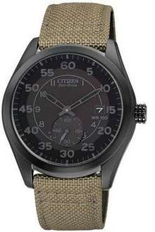 Citizen Eco-Drive Stealth Strap Mens Watch @ very £67