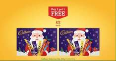 Buy one get one free Cadbury Selection Box £2 @ Morrisons