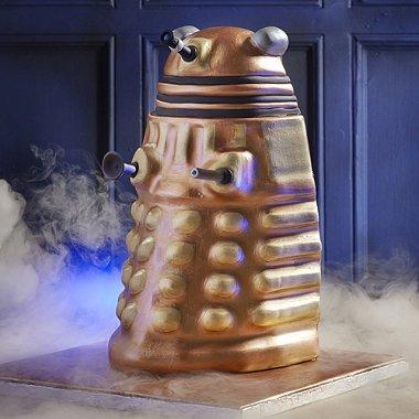 Dalek Cake Mould + Lots of Doctor Who stuff reduced £9.99 @ Lakeland