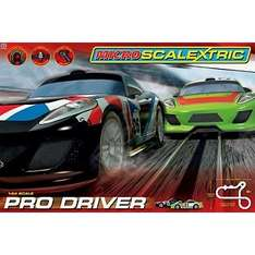 Scalextric Pro Driver Trackset.  Was £79.99. Now £39.99 @ Argos