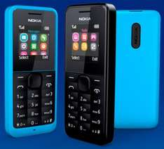 Nokia 105 UNLOCKED & Free Delivery from 99p! Via PAYG Upgrade @ Carphone Warehouse
