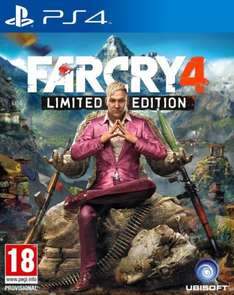 Far Cry 4 - Limited Edition £34.96 (coolshop.co.uk) PS4/Xbox One