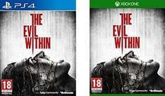 PS4/XB1: The Evil Within £25.00 (Using Code: TDX-FXRT) + Possible 9% Cashback (Quidco) @ Tesco Direct