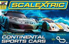 Scalextric 1:32 Scale Continental Sports Cars Race Set £49.99 @ Amazon