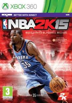 NBA 2K15 (X360/PS3) £18.78 Delivered @ Game