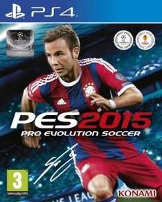 Pro Evolution Soccer PES 2015 £27.98 (£25.18 using code WELCOME) All formats (PS4, Xbox One) @ Zavvi