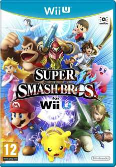 Super Smash Bros - Nintendo WiiU @ Amazon UK - £35.00