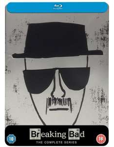 Breaking Bad Complete Series Steelbook Blu-Ray £65.00 @ Amazon (Exclusive)