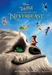 Tinker Bell and the Legend of the NeverBeast Free Screening 7/12 @ 10.30