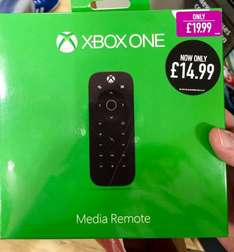 Xbox One Media Remote - £14.99 down from £19.99 - GAME