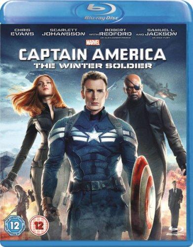 Captain America: The Winter Solider Blu-Ray £9.99 at Zavvi