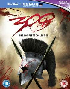 300 and 300 rise of an empire double pack blu ray £12.99 @ ebay / theentertainmentstore