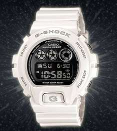Casio G-Shock White DW-6900NB-7ER 'Eminem's Watch' - £55 Sold by WatchHub and Fulfilled by Amazon