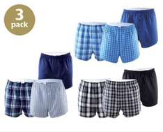 3 pack of boxer shorts £5.99 @ Aldi
