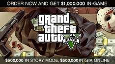 GTA 5 on Xbox 360 or PS3 - until 2pm today £19.99 online at Game