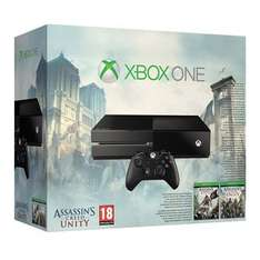 Xbox One Assassin's Creed Unity Pack (No Kinect) £309.97 Toys R Us