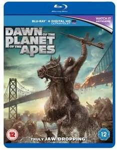 Dawn of the Planet of the Apes - Blu Ray £12.99 @ xtra-vision