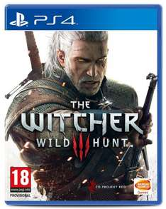 The Witcher 3: Wild Hunt with 16 Free DLCs £39 @ Amazon PS4 / Xbox One