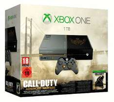 Xbox One 1TB Limited Edition Call of Duty: Advanced Warfare Bundle £319.99 @ Game - Offer Extended till 10pm!