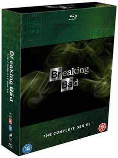 Breaking Bad now at £35 (DVD) and £50 (Blu-ray) @ Amazon