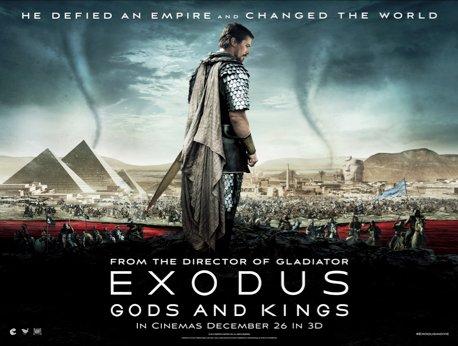Free screening of Exodus:Gods and Kings on Wed 3rd December