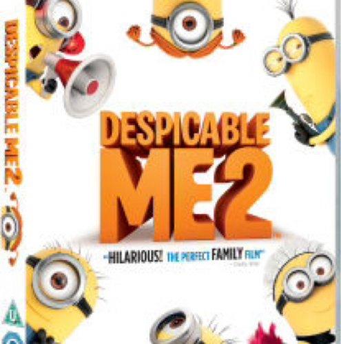 Despicable Me 2 on DVD £5.99 @ Zavvi
