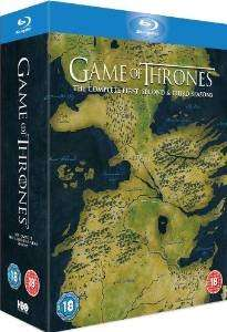 Game of Thrones Seasons 1-3 blu-ray Box Set (£37.00 via Amazon)
