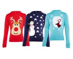Aldi selling kids Christmas Jumpers £5.99 from 4th Dec