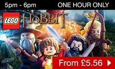 Hobbit lego 3ds game £5.56 @ Game (Ends 6pm)