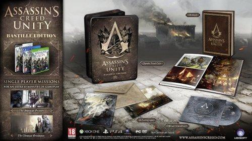 Assassin's Creed: Unity Bastille Edition PS4 / Xbox one  £36.99 @ Amazon