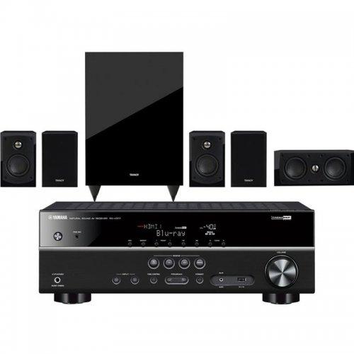 Yamaha RXV377 Home Cinema Receiver & Tannoy HTS101 5.1 Speaker System £427.50 @ Superfi