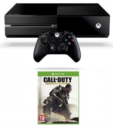 Xbox one (500GB) & CoD Advanced Warfare on Amazon.co.uk only £308.99