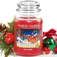 YANKEE CANDLE XMAS EVE LARGE JAR £11.99 CLINTONS (Instore)