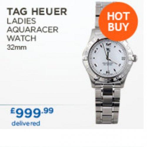 Tag heuer ladies aquaracer costco £999.99 @ Costco