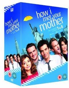 How I Met Your Mother - Season 1-8 [DVD] £23.40 @ Amazon