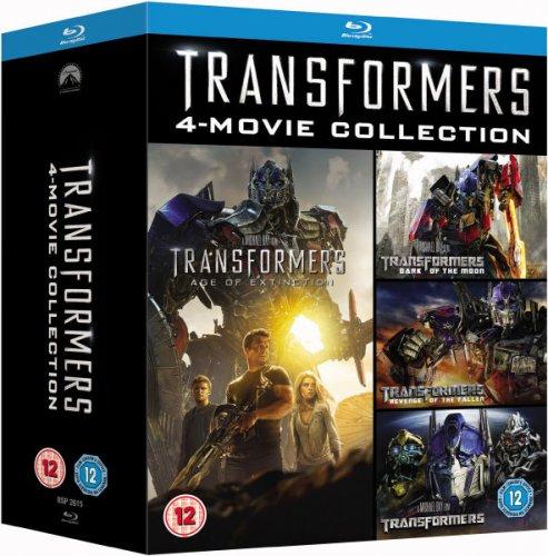 Transformers 1-4 Box Set [Blu-ray] *Lightning Deal* £15.99 @ Amazon
