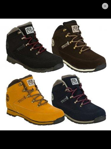 Henleys Mens Nubuck Hiker Boots £24.99 @  Ebay/Getthelable