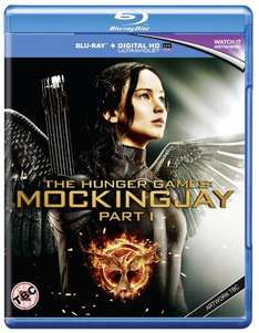Hunger Games - Mockingjay Part 1 Blu-Ray (pre-order) £13 @ Amazon