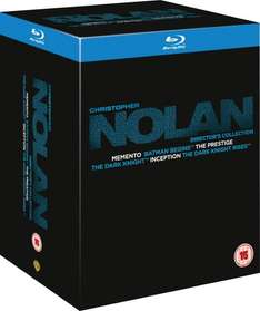 Christopher Nolan Director's Collection - 6 films on Blu Ray for £28.99 at Amazon (ends 9pm)