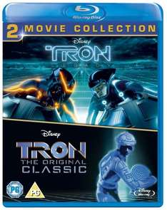 Tron Original & Tron Legacy Blu Ray £7.50 at Amazon (free delivery if spend made up to >£10)