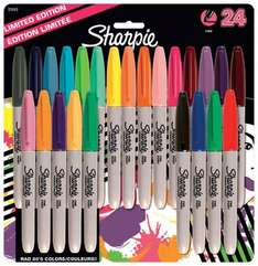 Sharpie Fine Permanent Marker Assorted Colours - Pack of 24 £7.99!! Amazon