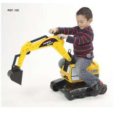 Falk Excavator Power Shift L100 Sit and Ride (2-5 years) £44.43 @ Amazon