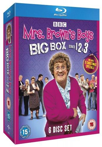 Mrs Brown's Boys - Big Box Set (Series 1 - 3) [Blu-ray] £12 @ Amazon