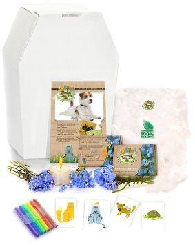 Personalise White Biodegradable Pet Coffin Casket @ Amazon £11.76