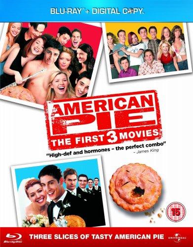 American Pie 1 - 3 Box Set [Blu-ray] [Region Free] = £9.40 @ Amazon  (free delivery £10 spend/prime)