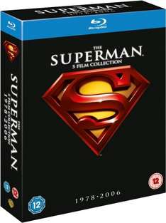 Superman 5 film blu ray box set only £8.90 @ Amazon. (free delivery £10 spend/prime)