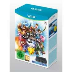 Super Smash Bros (Wii U) and Gamecube controller adapter - £54.99 (pre-order for release 5th December) @ Argos