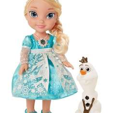 Frozen Disney Princess Snow Glow Elsa In stock £34.99 @ Argos Online Plus £3.95 delivery
