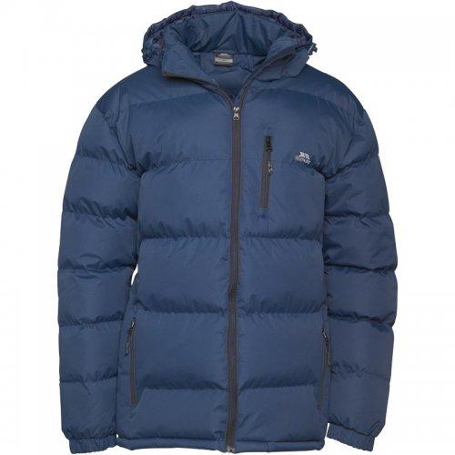 Trespass Mens Clip Padded Hooded Jacket Navy £23.99
