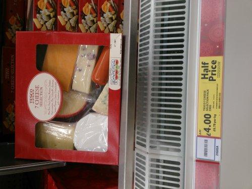 7 cheese selection 590g @ tesco for £4